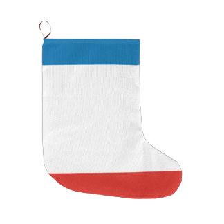 Meia De Natal Grande Bandeira de Crimeia