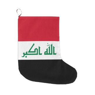 Meia De Natal Grande Bandeira de Iraque