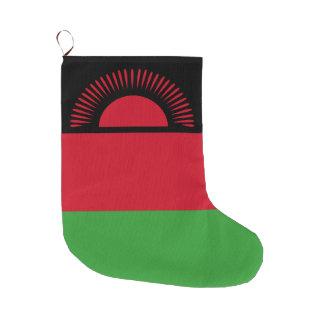 Meia De Natal Grande Bandeira de Malawi