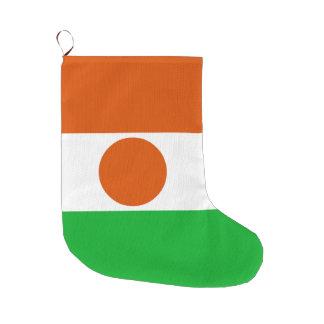 Meia De Natal Grande Bandeira de Niger