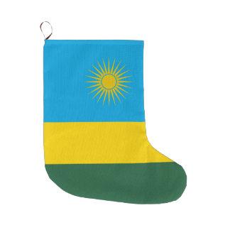 Meia De Natal Grande Bandeira de Rwanda