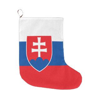 Meia De Natal Grande Bandeira de Slovakia
