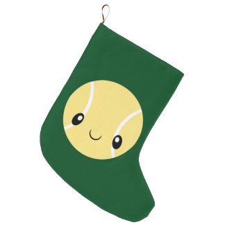 Meia De Natal Grande Bola de tênis de Emoji