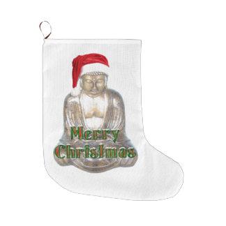Meia De Natal Grande Budismo - Buddha - Feliz Natal