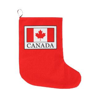 Meia De Natal Grande Canadá