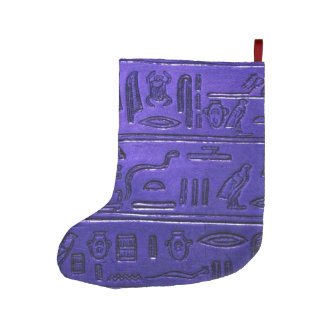 Meia De Natal Grande Hieroglyphs_2014_1028