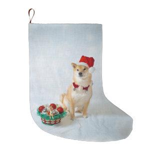 Meia De Natal Grande Meia do Natal de Barkley do papai noel