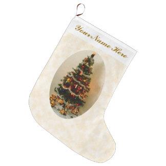 Meia De Natal Grande Oh, meia da árvore de Natal grande