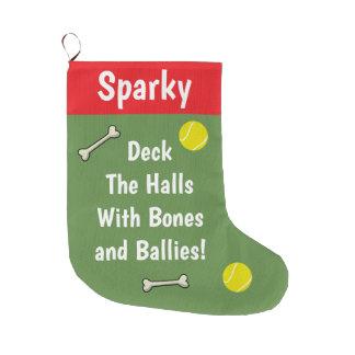 Meia De Natal Grande Plataforma os salões com ossos e Ballies