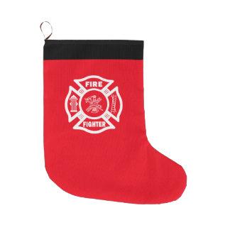 Meia De Natal Grande Sapador-bombeiro