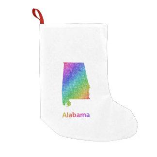 Meia De Natal Pequena Alabama