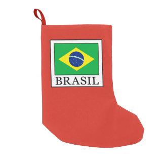 Meia De Natal Pequena Brasil