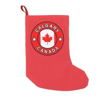 Meia De Natal Pequena Calgary Canadá