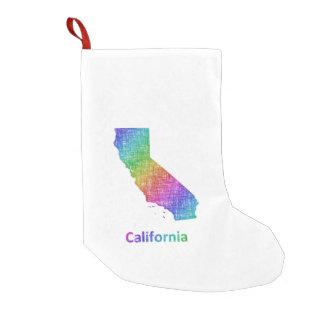Meia De Natal Pequena Califórnia