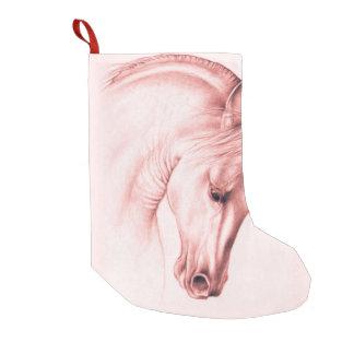 Meia De Natal Pequena Cavalo andaluz bonito