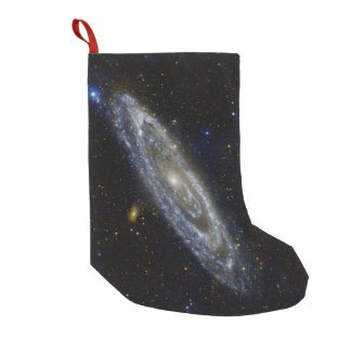 Meia De Natal Pequena Céu estrelado da galáxia do Andromeda