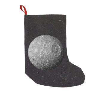 Meia De Natal Pequena Céu estrelado de Mimas da lua de Saturn