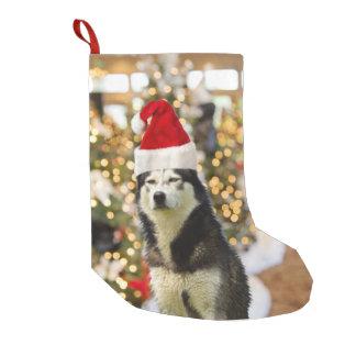 Meia De Natal Pequena Chapéu da árvore de Natal do rouco Siberian