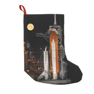 Meia De Natal Pequena Descoberta e lua do vaivém espacial