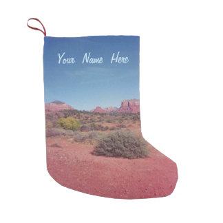 Meia De Natal Pequena Deserto Vista personalizado