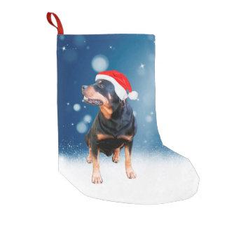Meia De Natal Pequena Estrelas bonitos da neve do chapéu do papai noel