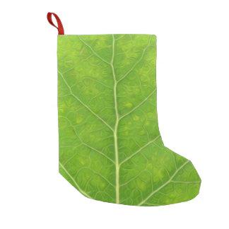 Meia De Natal Pequena Folha verde #11 de Aspen