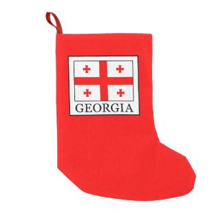 Meia De Natal Pequena Geórgia
