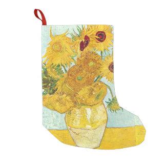Meia De Natal Pequena girassol por Vincent van Gogh, impressionista p do