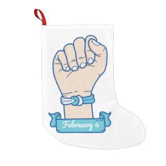 Meia De Natal Pequena homens bracelet-01 do cancer