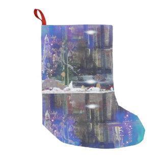 Meia De Natal Pequena Inverno Wonder país