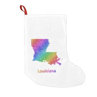 Meia De Natal Pequena Louisiana