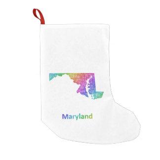 Meia De Natal Pequena Maryland