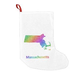 Meia De Natal Pequena Massachusetts