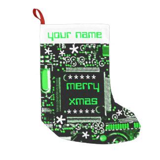 Meia De Natal Pequena Meia conhecida do verde 2 do circuito