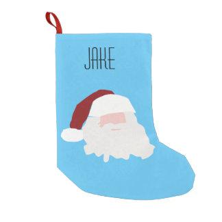 Meia De Natal Pequena Meia nomeada costume de Jake Papai noel Natal