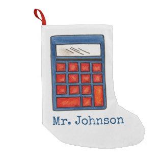 Meia De Natal Pequena Meia personalizada do Xmas da calculadora do