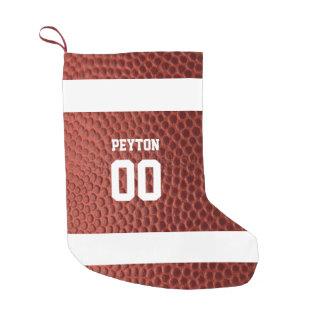 Meia De Natal Pequena Meia personalizada textura do futebol
