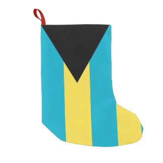 Meia De Natal Pequena Meias do Natal com a bandeira de Bahamas