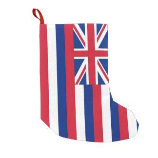 Meia De Natal Pequena Meias do Natal com a bandeira de Havaí, EUA