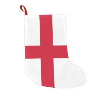 Meia De Natal Pequena Meias do Natal com a bandeira de Inglaterra