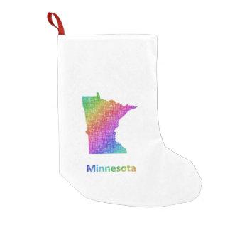 Meia De Natal Pequena Minnesota
