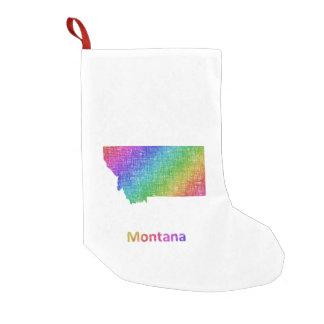 Meia De Natal Pequena Montana