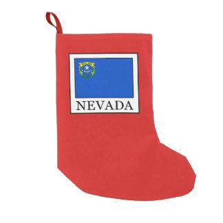 Meia De Natal Pequena Nevada