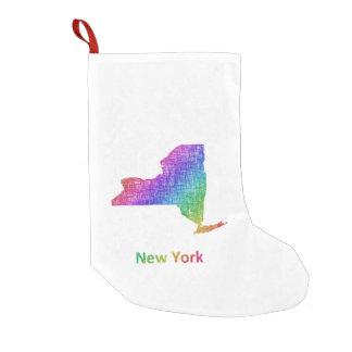 Meia De Natal Pequena New York