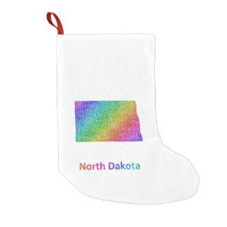 Meia De Natal Pequena North Dakota