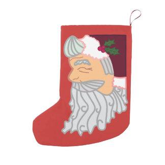 Meia De Natal Pequena O presente está DENTRO