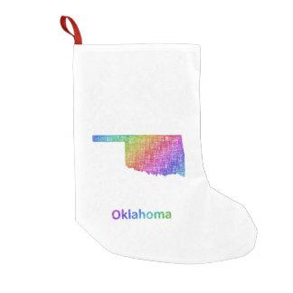 Meia De Natal Pequena Oklahoma