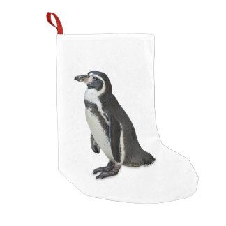 Meia De Natal Pequena Pinguim