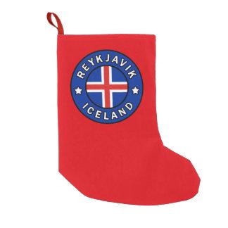 Meia De Natal Pequena Reykjavik Islândia