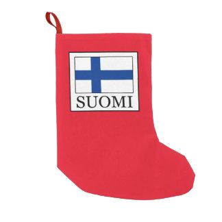 Meia De Natal Pequena Suomi